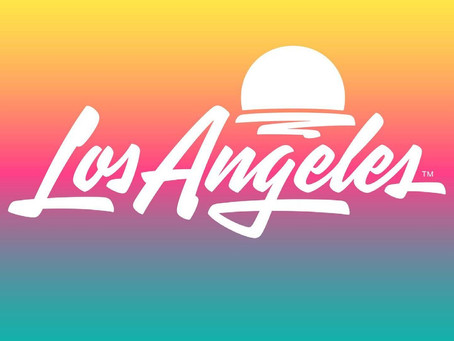 Los Angeles Rebranding By Shepard Fairey and House Industries is a Gradient Lover's Dream