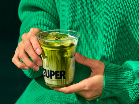 Super Matcha's Branding Will Have You Craving The Tasty Green Drink In No Time