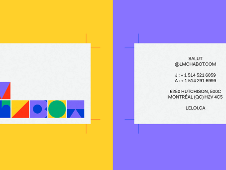 Lm Chabot's Branding System Reflects Their Colorful and Playful Aesthetic