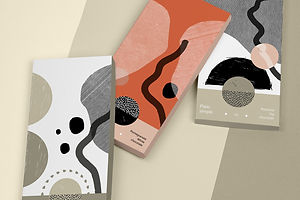 Take A Bite Out Of Plain Simple Chocolate's Simplistic Branding System