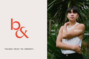 Both& is a Transmasculine and Non-Binary Fashion Brand With Inclusive Design