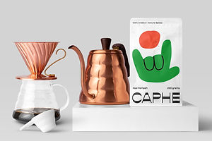 If Caphe's Branding Was A Person, I'd Want To Be Its Buddy