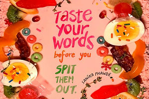 'Taste Your Words Before You Spit Them Out' Is A Graphic Novel Thesis By Sanika Phawde