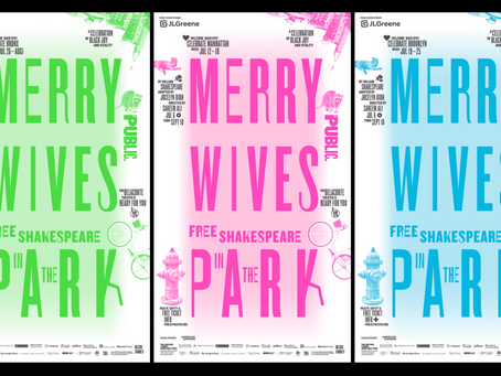 Paula Scher & Pentagram's Campaign For Shakespeare In The Park Makes Our Summer Dreams Come True