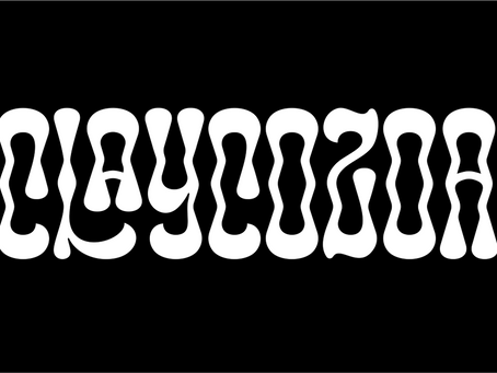 Type Tuesday: Zea Fonts' Typeface Claycozoa Triggers Non-Ordinary States of Consciousness