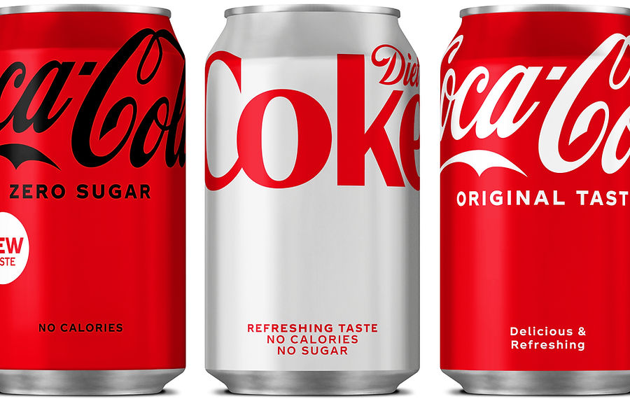 Coca-Cola Redesigns For First Time Since 2016