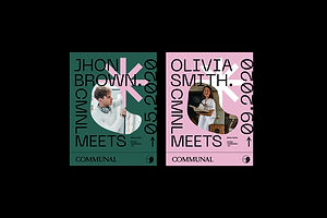 Invade Design Team Created The Beautiful Branding For Coworking Space Communal
