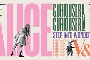 Tumble Into the Rabbit Hole Of Hingston Studio's Identity For the V&A's Alice In Wonderland Exhibit