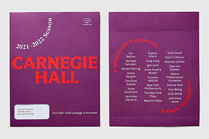 Carnegie Hall Rebrands With Help From Champions Design