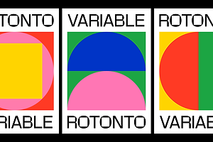 Type Tuesday: Rotonto Thinks Outside The Box