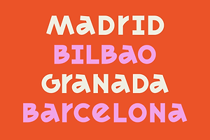 Type Tuesday: MADRID's Eclectic Letterforms