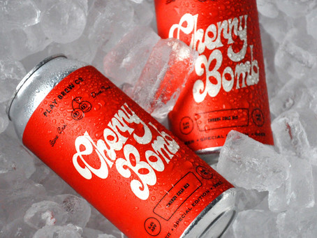 Play Brew Co Makes Us Super Nostalgic With Cherry Bomb Beer