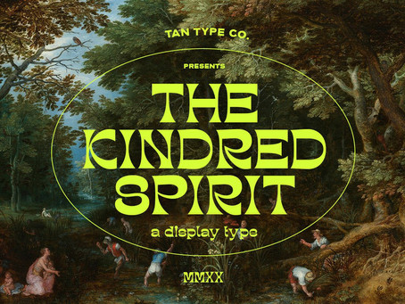 Type Tuesday: Kindred Is Your Design's Soulmate