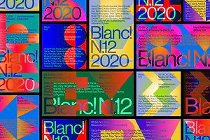 Blanc! N.12's Branding Speaks To The Festival's Joyful Spirit