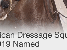 2019 Dressage Squad Announced