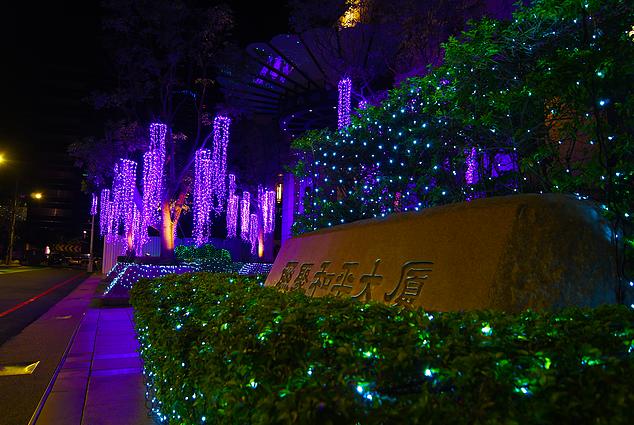 戶外建築 燈光裝置藝術