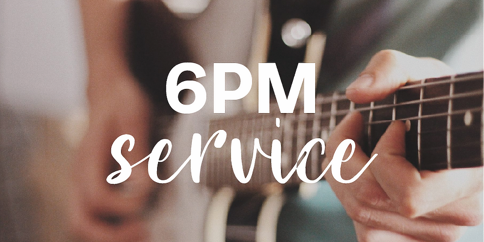 Sunday 6pm Service - 2nd August