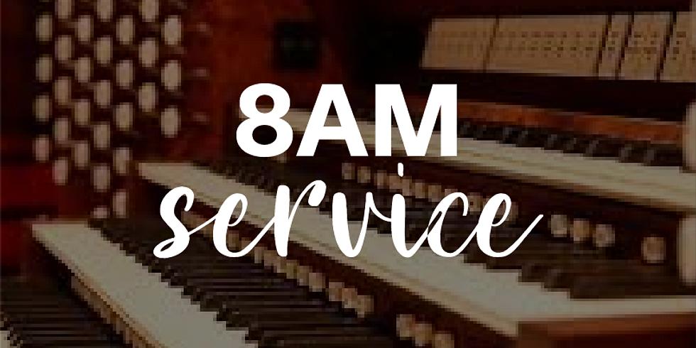 Sunday 8am Service - 8th November