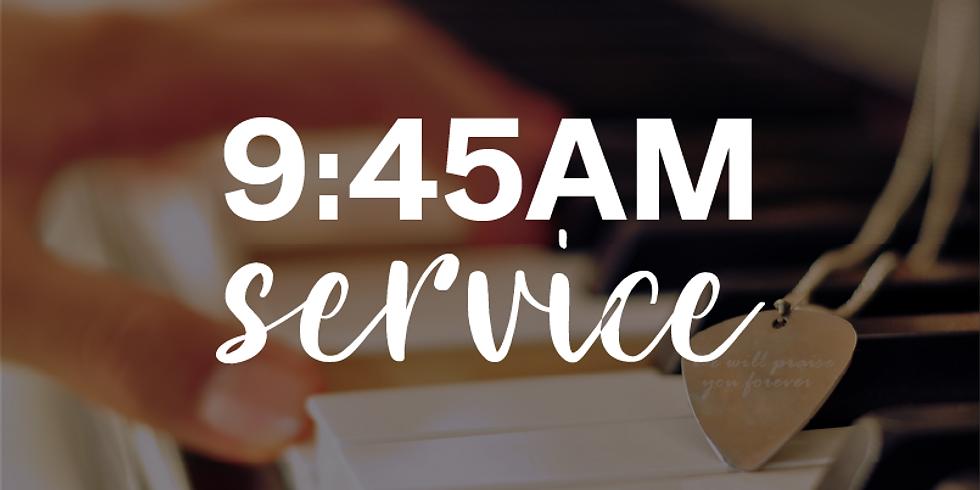 Sunday 9:45am Service - 1st November