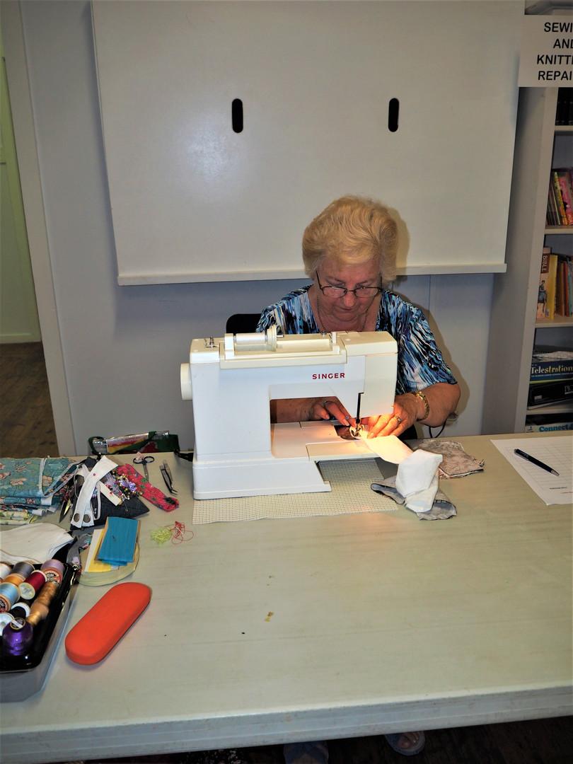 Basic sewing repairs