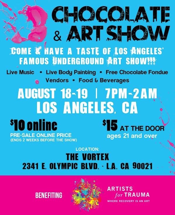 The Chocolate and Art Show!