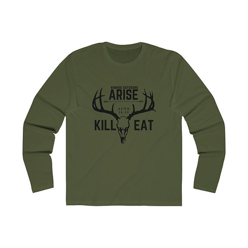 Arise Kill Eat Long Sleeve Crew Tee