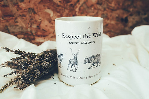 Taza Respect The Wild