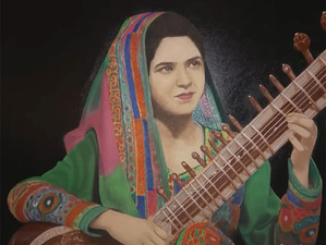 The Sitar Player: Inspiring the Arts and Humanity