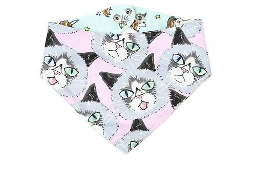 Bandana Grumpy Cat-Licorne