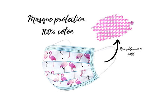 Masque de protection Flamingo