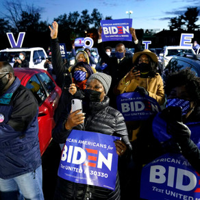BLACK LEADERS GREET BIDEN WIN, PLEDGE TO PUSH FOR EQUALITY