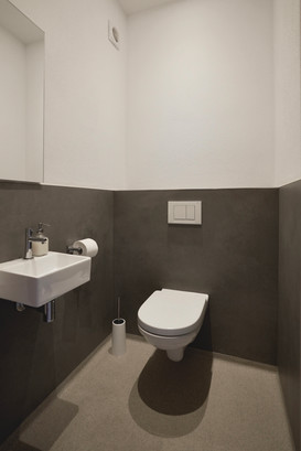 Toilet with wash basin
