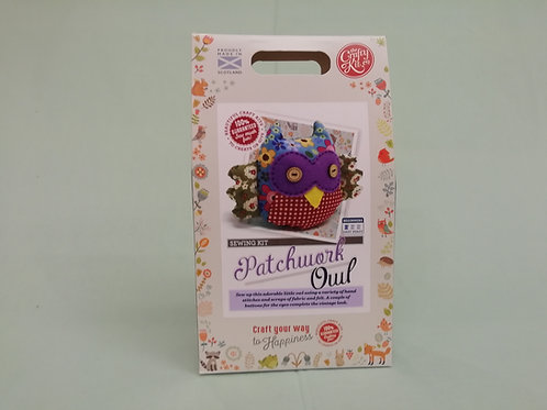 Sew Your Own Patchwork Owl