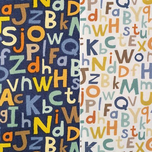 Makower Fabrics - Alphabet