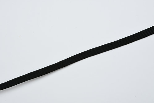 5mm black elastic