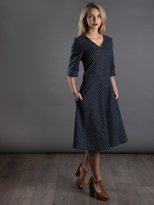 The Avid Seamstress - A Line Dress