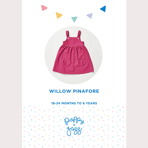 Poppy and Jazz - Willow Pinafore