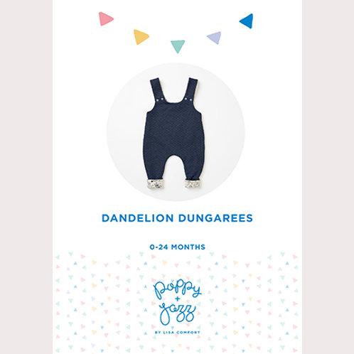 Poppy and Jazz - Dandelion Dungarees