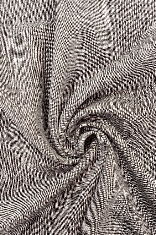Melange linen viscose mix fabric