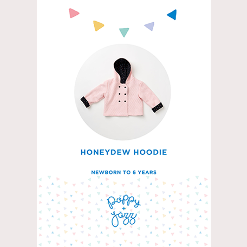 Poppy and Jazz - Honeydew Hoodie