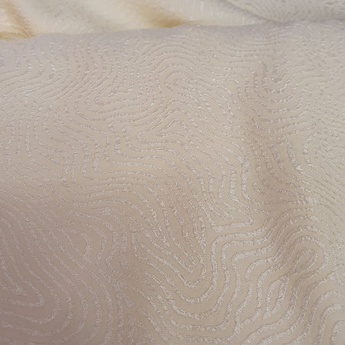Polyester fabric - Ivory