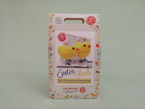 Easter Chicks Felting Kit