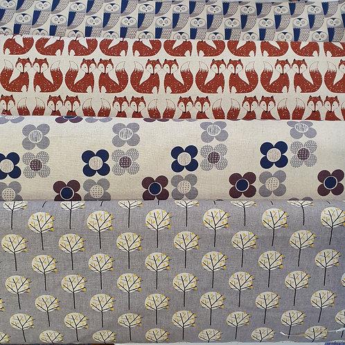 Dashwood linen/cotton blend