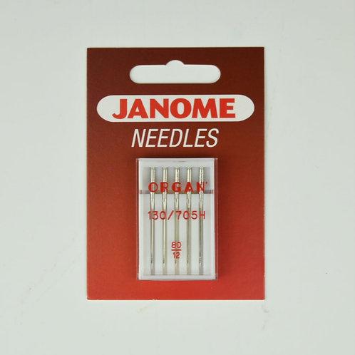Janome Organ Needles - 130/705H  80/12