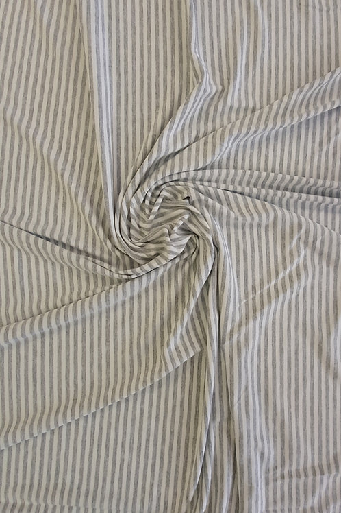Grey Stripe Organic Jersey