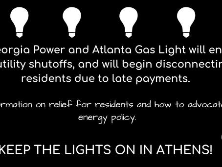 Keep the Lights On Athens