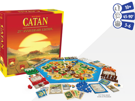Catan 25th edition delayed