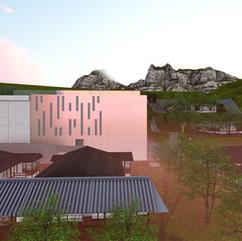 優人神鼓水湳洞中山堂及週邊日式聚落空間設計案