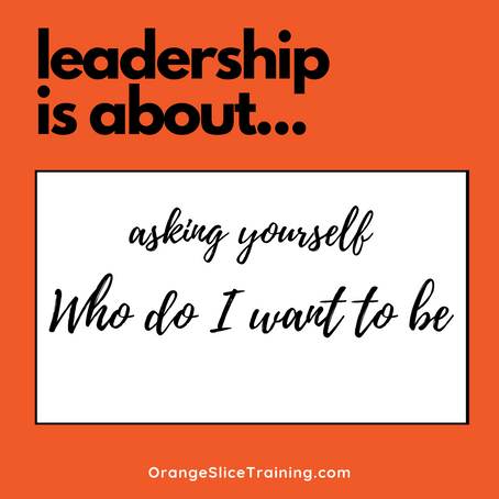 Leadership is about...