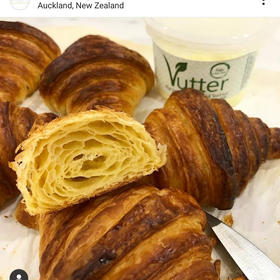 Croissants made with Vutter by Maison Des Lys